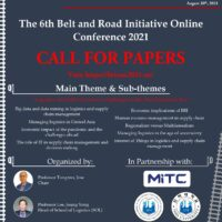 Call for Papers! The 6th Belt and Road Initiative Online Conference 2021.