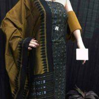 Hand loom Cotton Shirt cut Piece Dress materials
