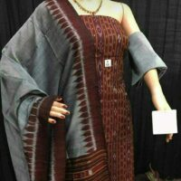Hand loom Cotton Kurta &Salwar Dress materials
